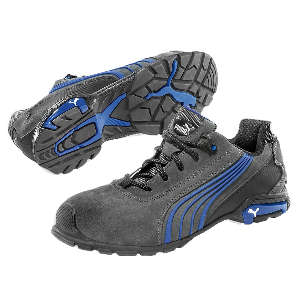 02ab9157acd78a Puma Milano Low Black-Blue S1P Safety Shoes   256  Amazon.co.uk  Electronics