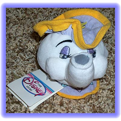 Disney Beauty and the Beast Mrs. Potts 7 Inch Plush Bean Bag Doll: Toys & Games