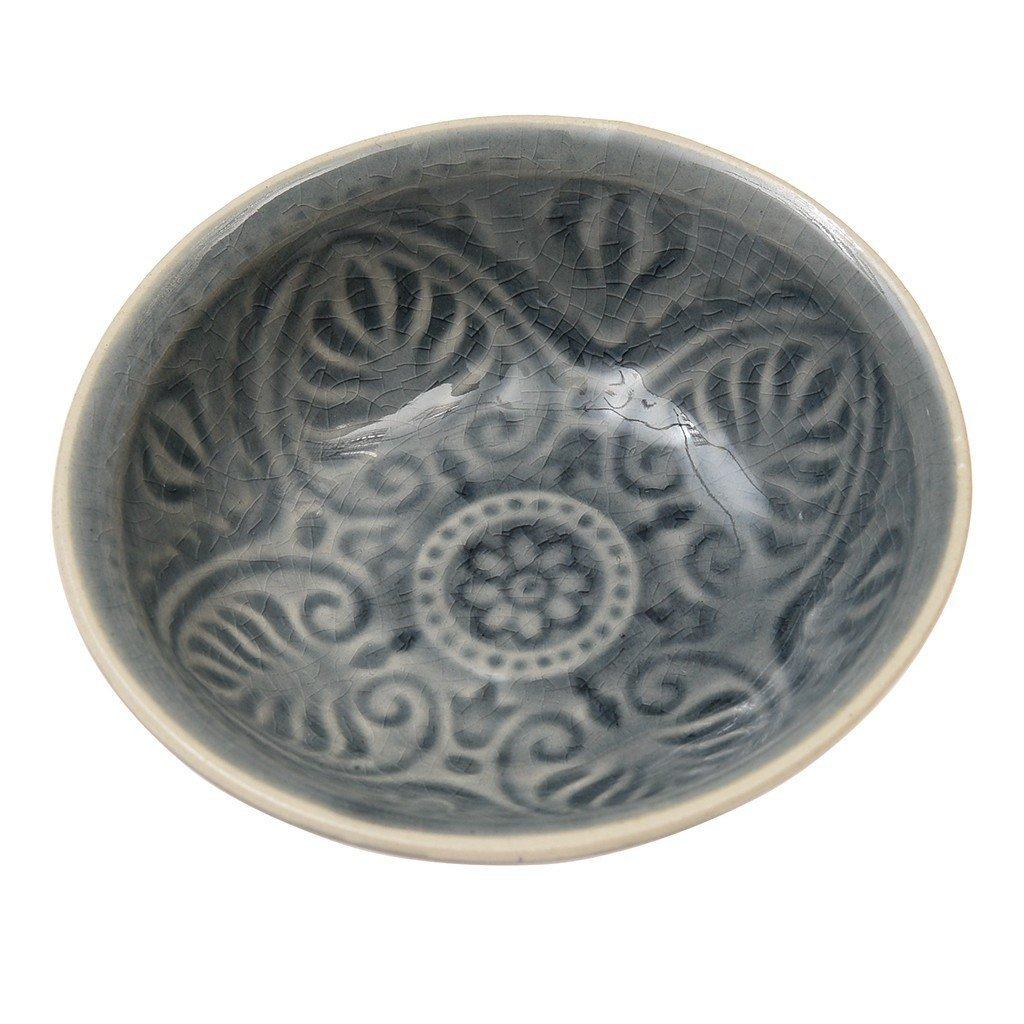 Grey Marakesh Dipping Bowl