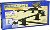 Bachmann Trains 14 PC. E-Z TRACK GRADUATED PIER SET  - HO Scale