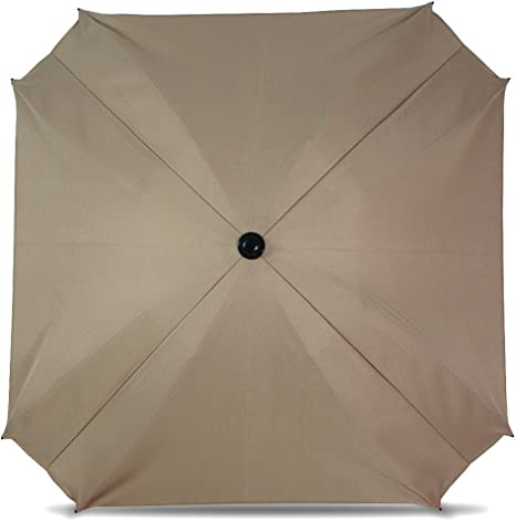 Diameter 68/ cm, Parasol with UV Protection Universal Pram Sun Parasol with Flexible Arm