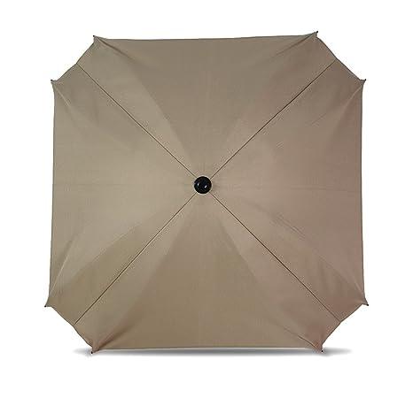 Sombrilla para carritos, con brazo de montaje flexible, sombrilla con protección UV, diámetro