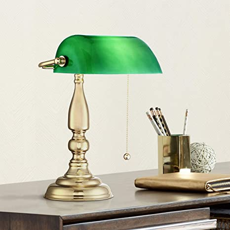 Vintage Green Shade Bankers Desk Lamp Replacement Globe Lighting Design And Supply
