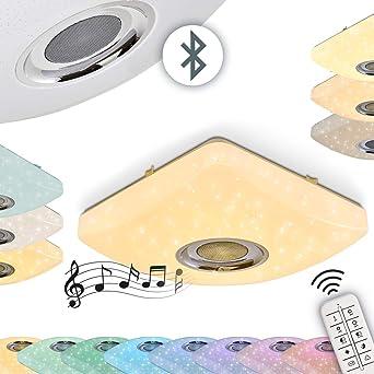 LED Decken Leuchte RGB Farbwechsler Flur Wohn Schlaf Zimmer Lampe Fernbedienung