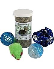 Organic Catnip Cat Toy Set from Kitty Green
