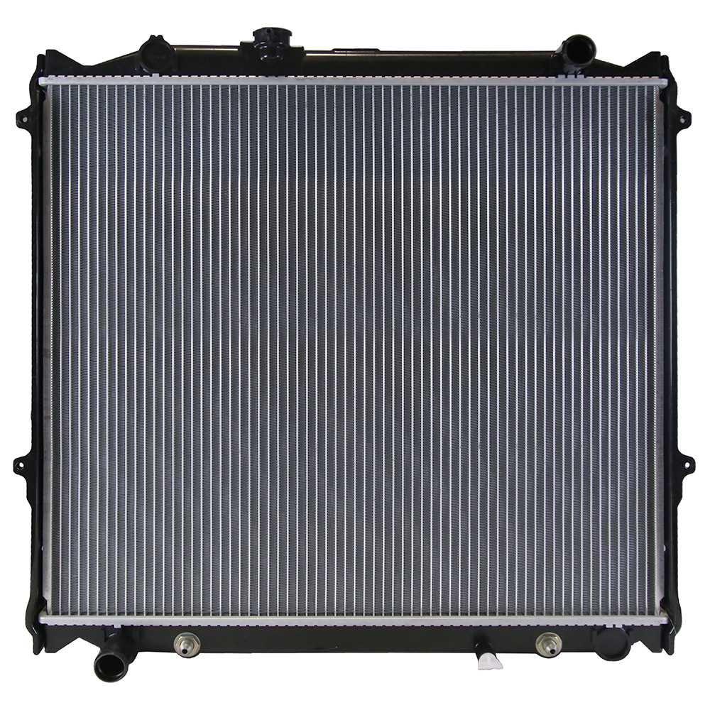 Prime Choice Auto Parts RK742 New Complete Aluminum Radiator