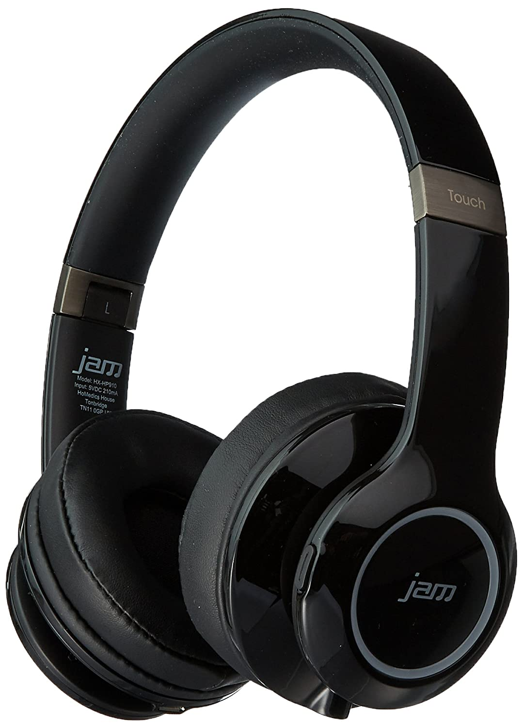 HMDX JAM Transit Touch Rechargeable Wireless Bluetooth Headphones/Headset