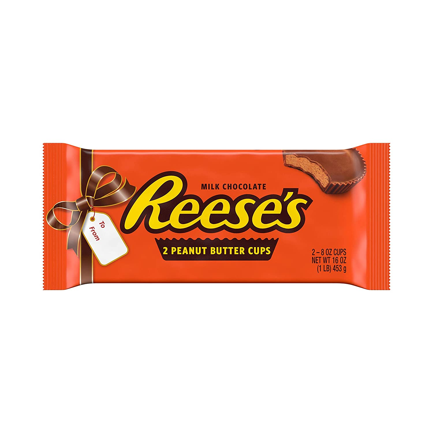 Amazon Com Reese S Milk Chocolate Peanut Butter Cups Candy Easter Gift 1 Lb Pack Candy And Chocolate Bars Grocery Gourmet Food