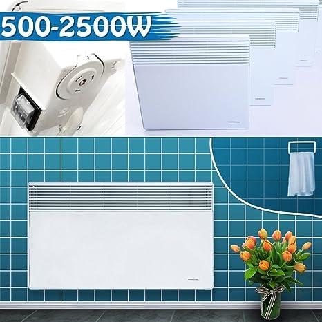 Pared convector de baño Radiador Eléctrico Calefacción calefactor eléctrico calefactor radiadores (térmica, ...