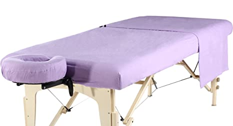 Buy Mt Massage Universal Massage Table Flannel Sheet Set 3 in 1 (In ...