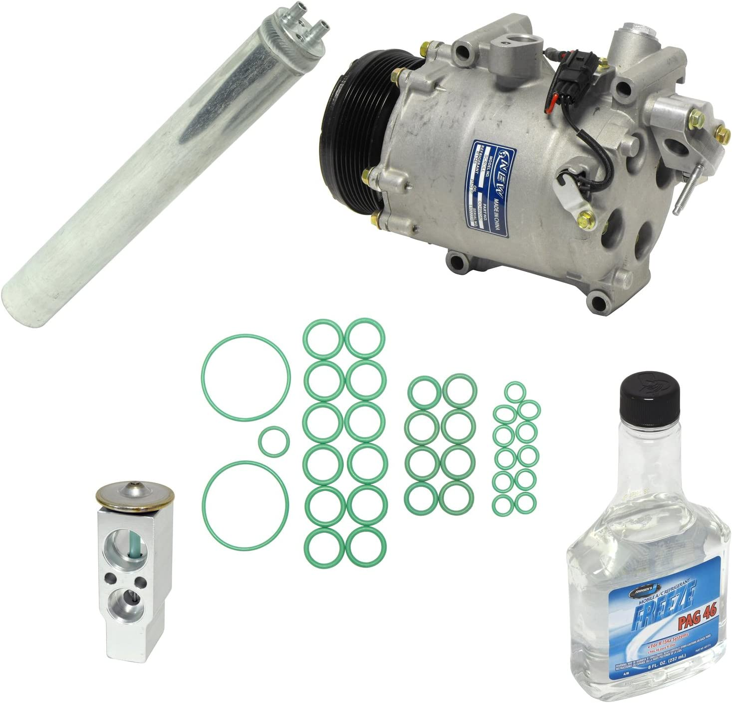 Universal Air Conditioner KT 1303 A//C Compressor and Component Kit