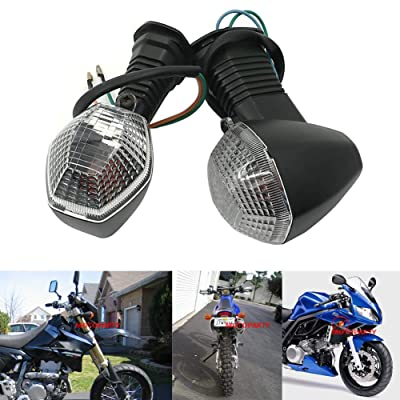 Motoparty Turn Signal Light Indicator For Suzuki DRZ400 S SM SV650 SV1000 SFV650 Turn Signal Indicator Light Lamp,2pcs: Automotive