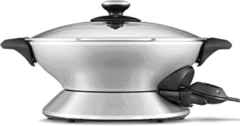 Breville 6-Quart Stainless-Steel Electric Hot Wok