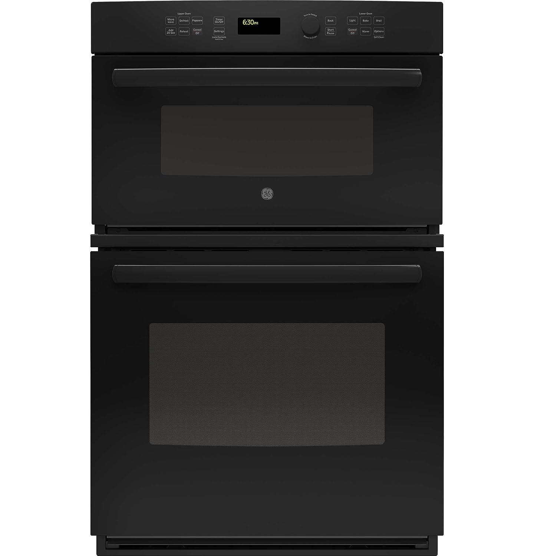 "GE JK3800DHBB 27"" Black Electric Combination Wall Oven"