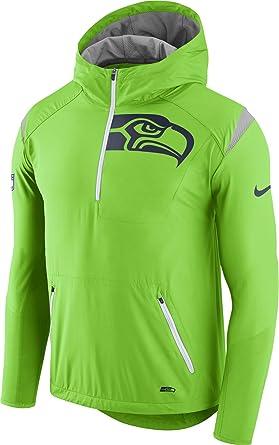huge discount 05b25 39f0f Amazon.com: Nike Men's Seattle Seahawks Lightweight Fly Rush ...