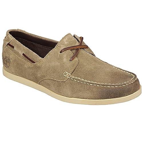 Botines náuticos Timberland de ante para hombre de Get The Label en marrón: Amazon.es: Zapatos y complementos