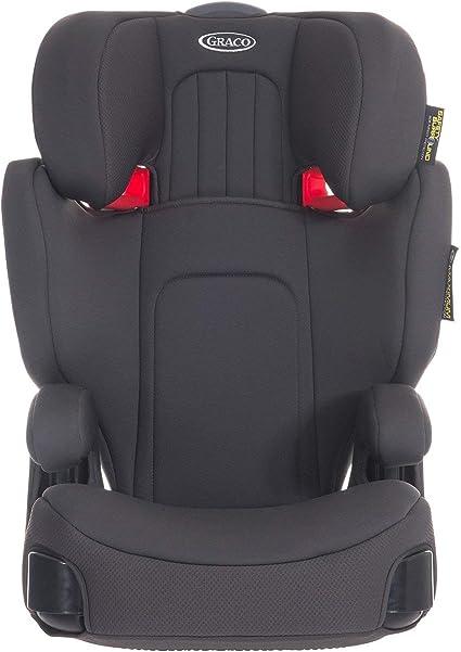 Child Car Seat Safety Support Graco Booster Basic Group 3 Safer Belt Opal Grey