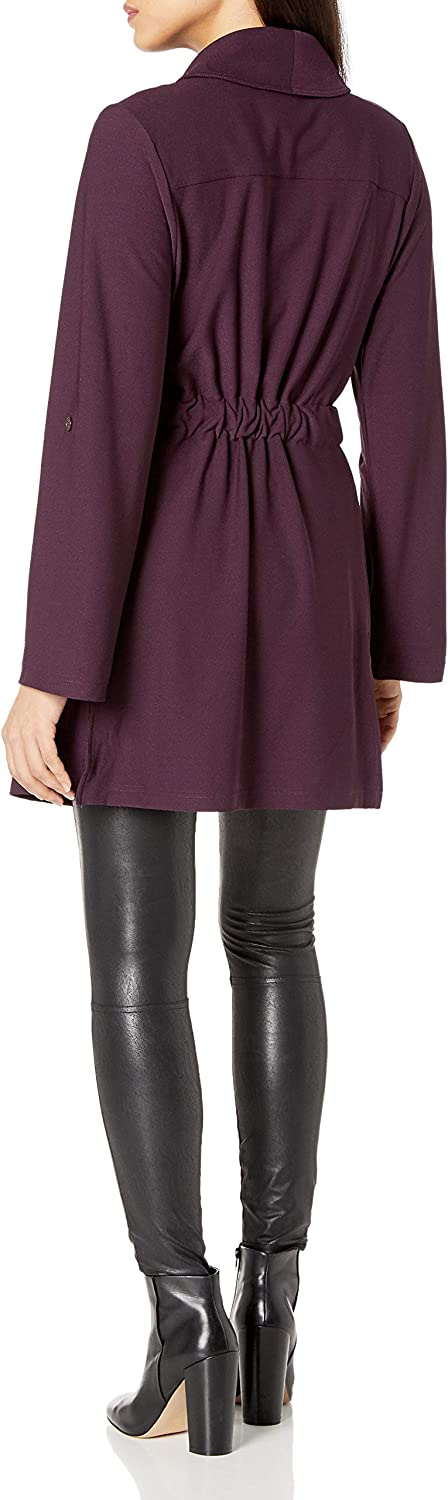 Lyss/é Womens Pearl Trench Coat