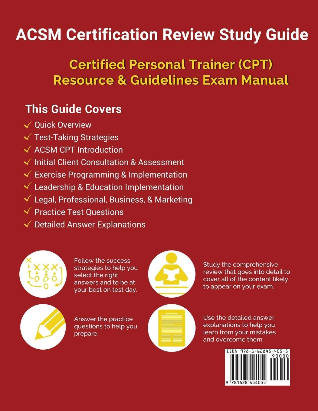 Acsm Certification Review Study Guide Certified Personal Trainer