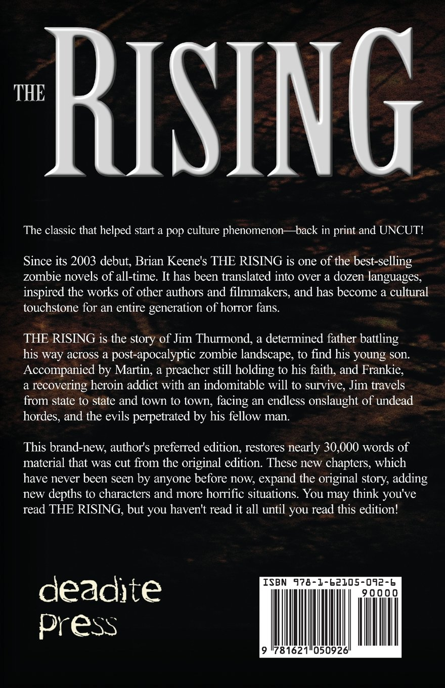 The Rising: Author's Preferred Edition: Brian Keene: 9781621050926:  Amazon: Books