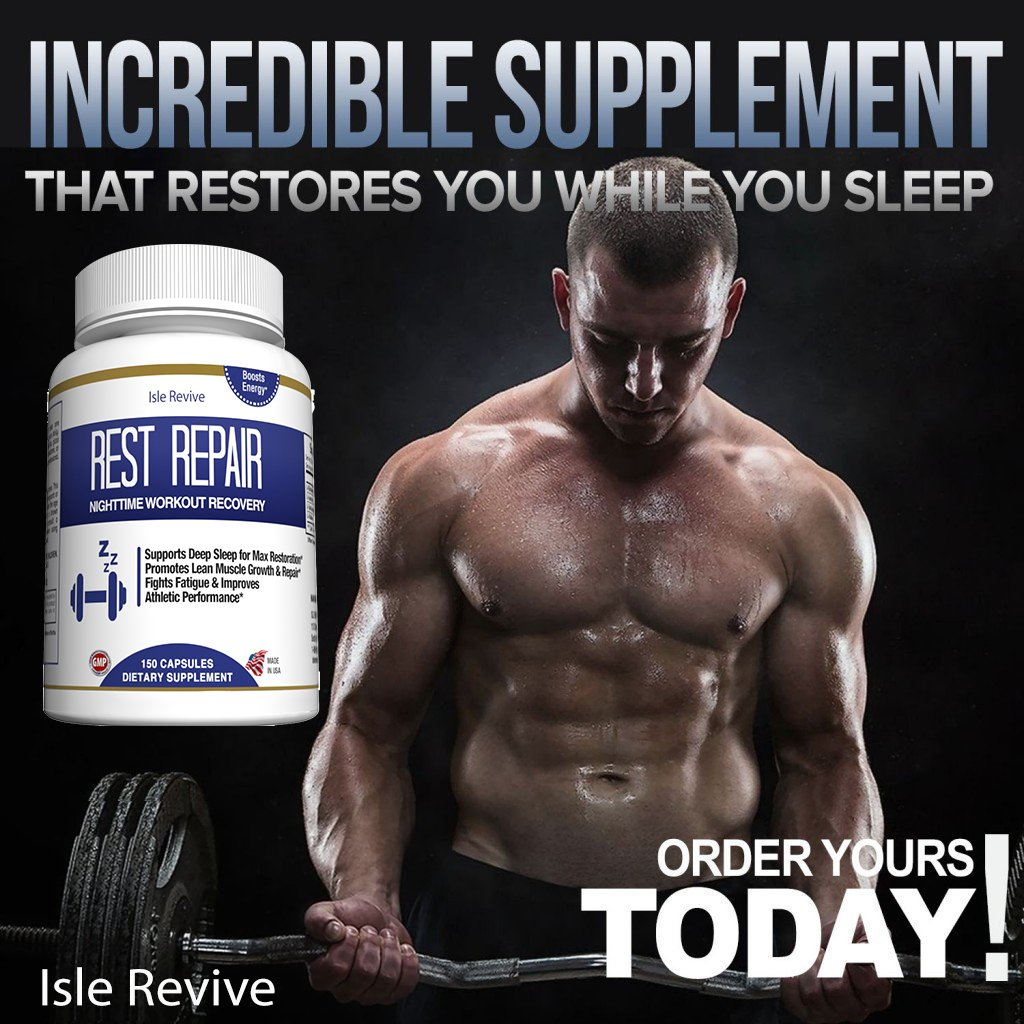 Glutamine BCAA Capsules, Post Workout Muscle Recovery and Sleep Supplement, A Blend of L-Glutamine and Amino Acids, All Natural Pills for Men and Women (150 Capsules, 30 Day Supply) - Rest Repair by Isle Revive (Image #5)