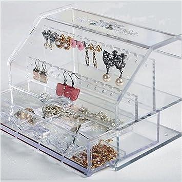 Amazoncom Jewelry Accessories Organizer Holder Earring Necklace