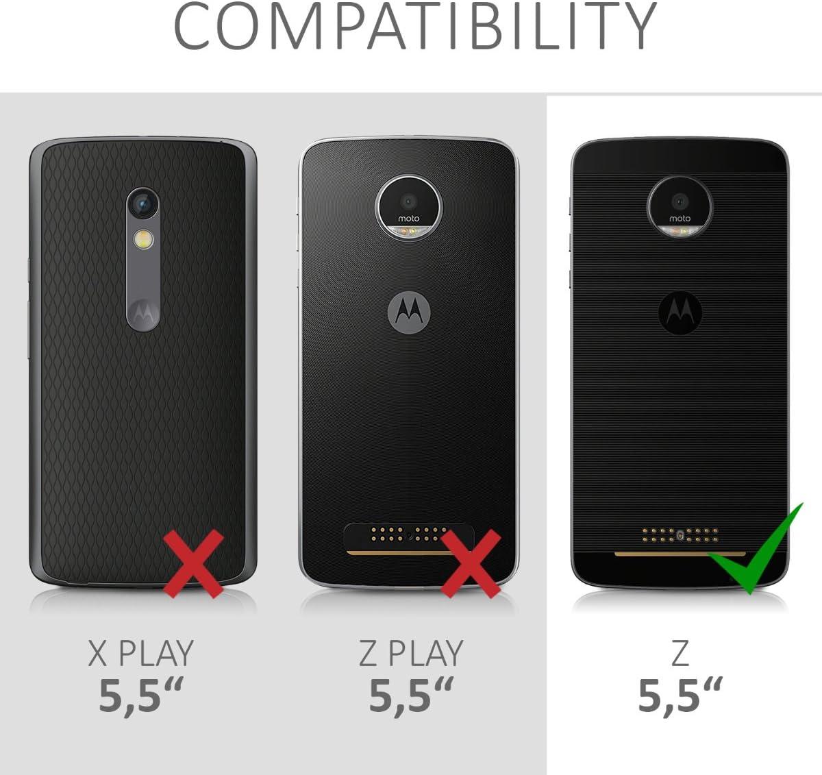 kwmobile Funda Compatible con Motorola Moto Z: Amazon.es: Electrónica