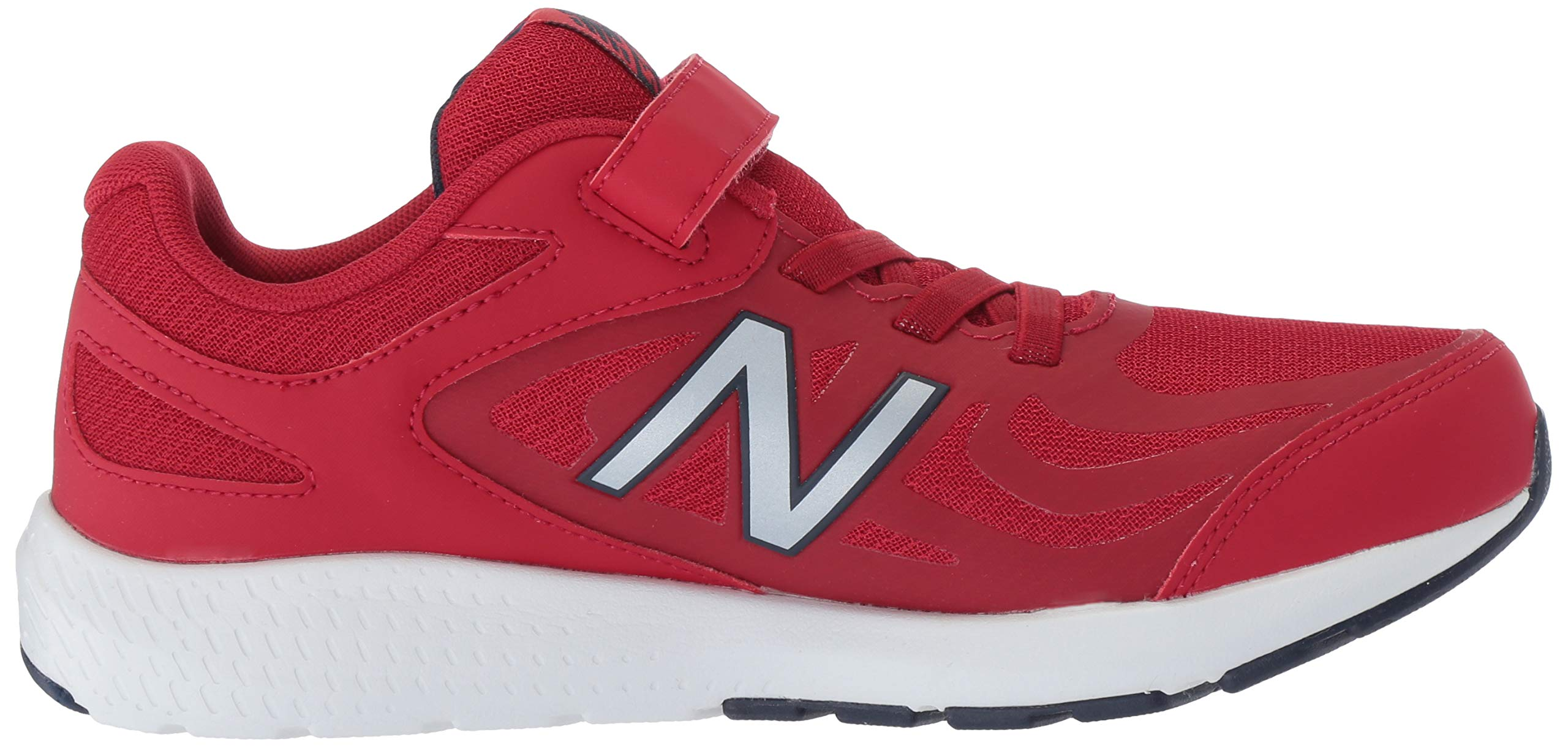 New Balance Boys' 519v1 Hook and Loop Running Shoe, Chili Pepper/Nubuck Scarlet, 2 M US Infant by New Balance (Image #7)