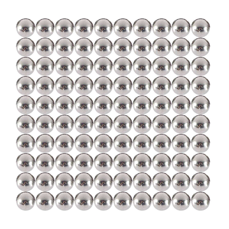 HFS 100 PIECES 1//4 Bracket Bike Loose Bearing Balls stainless steel 304 R