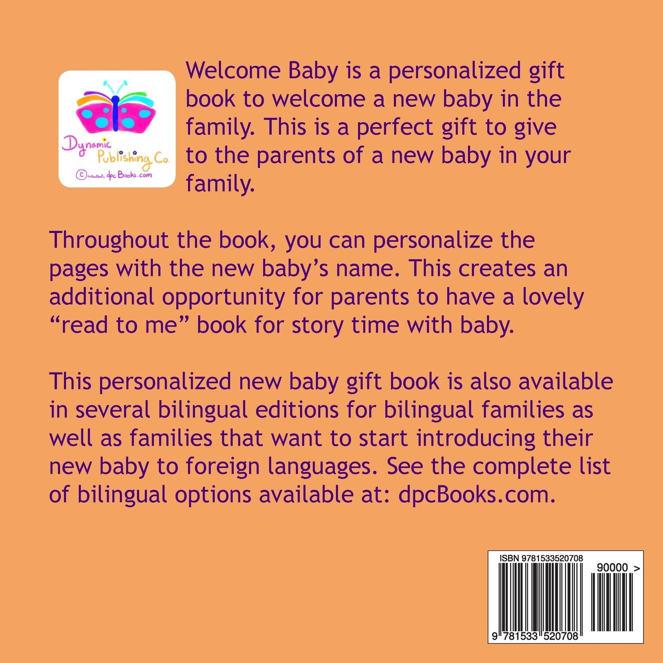 Welcome baby a personalized gift book to welcome a new baby in the welcome baby a personalized gift book to welcome a new baby in the family ziva solay zoe solay 9781533520708 books amazon negle Image collections
