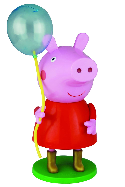 Air Val Peppa Pig und Wutz Geschenk-Set, 1er Pack (3D Figur mit Ballon plus Duschgel 300 ml) Air-Val P6210