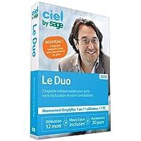 Ciel Le Duo Simplyflex 2015 - 1 an d'abonnement