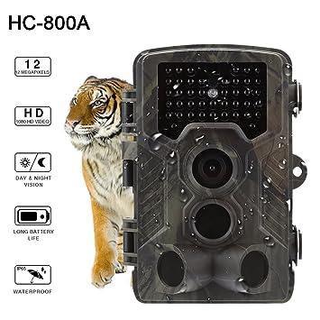 Starter HC-800A 12MP 120 ° Trail Hunting Camera Máquina Ordinaria (caja de color