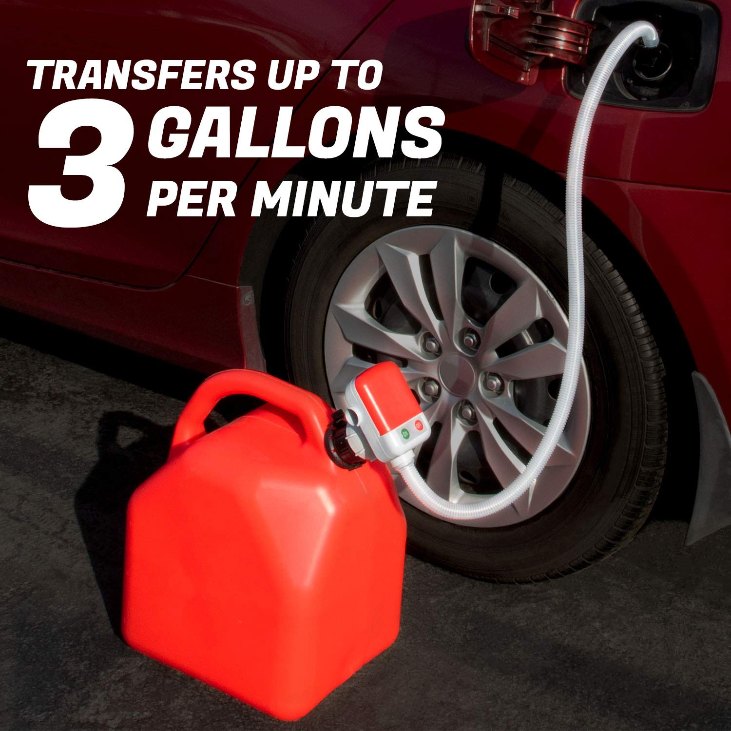 Garage Gas Can Pump/No More Heavy Gas Can Lifting/No More backache/Dad Father Birthday Gift Present Present from Daughter Son Wife/Birthday Gifts for him Men by TERA PUMP (Image #5)