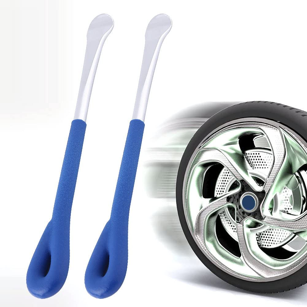 2Pcs Motorcycle Bike Tire Lever Tool Spoon Tyre Wheel Changing Repair Set Tire Lever Repair Tool