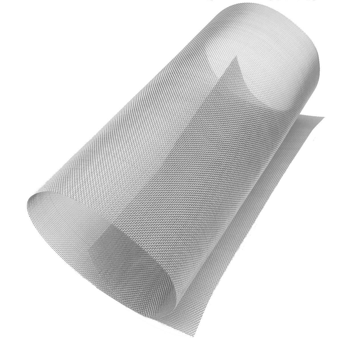 ASC Stainless Steel Mesh 304,#16 .018 Wire,Cloth,Screen,Woven Wire 12X18