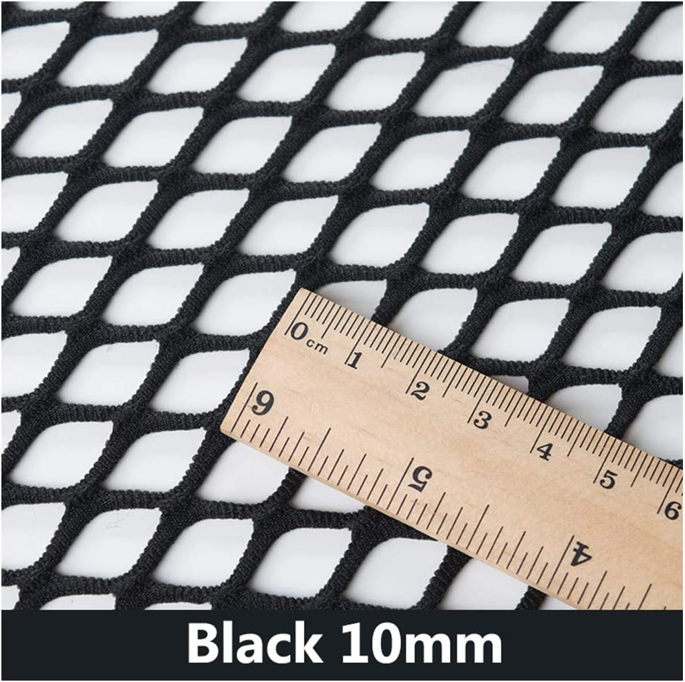 Black//White New Mesh Fish Net Effect Black Stretchy Fabric Large Holes DIY Craft