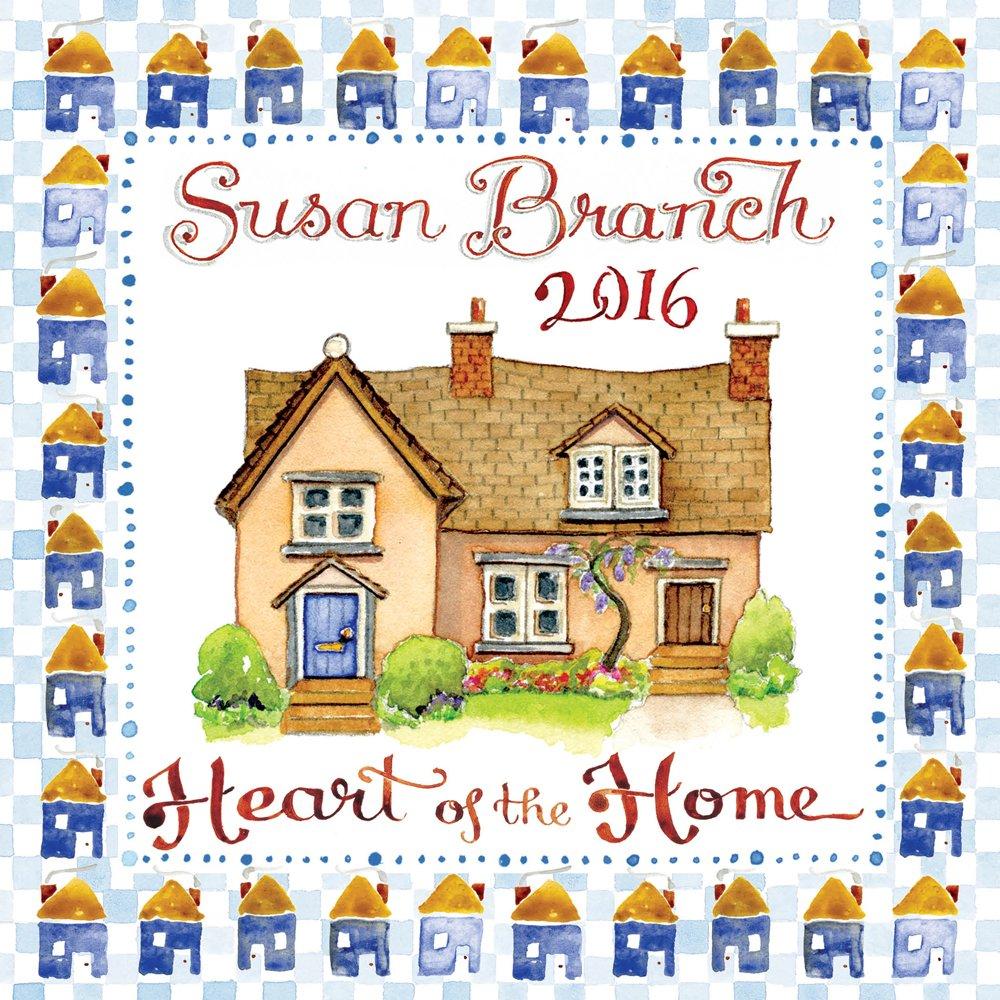 2016 Susan Branch Mini Calendar by TF Publishing