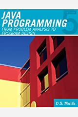 Java™ Programming: From Problem Analysis to Program Design (Introduction to Programming) Kindle Edition