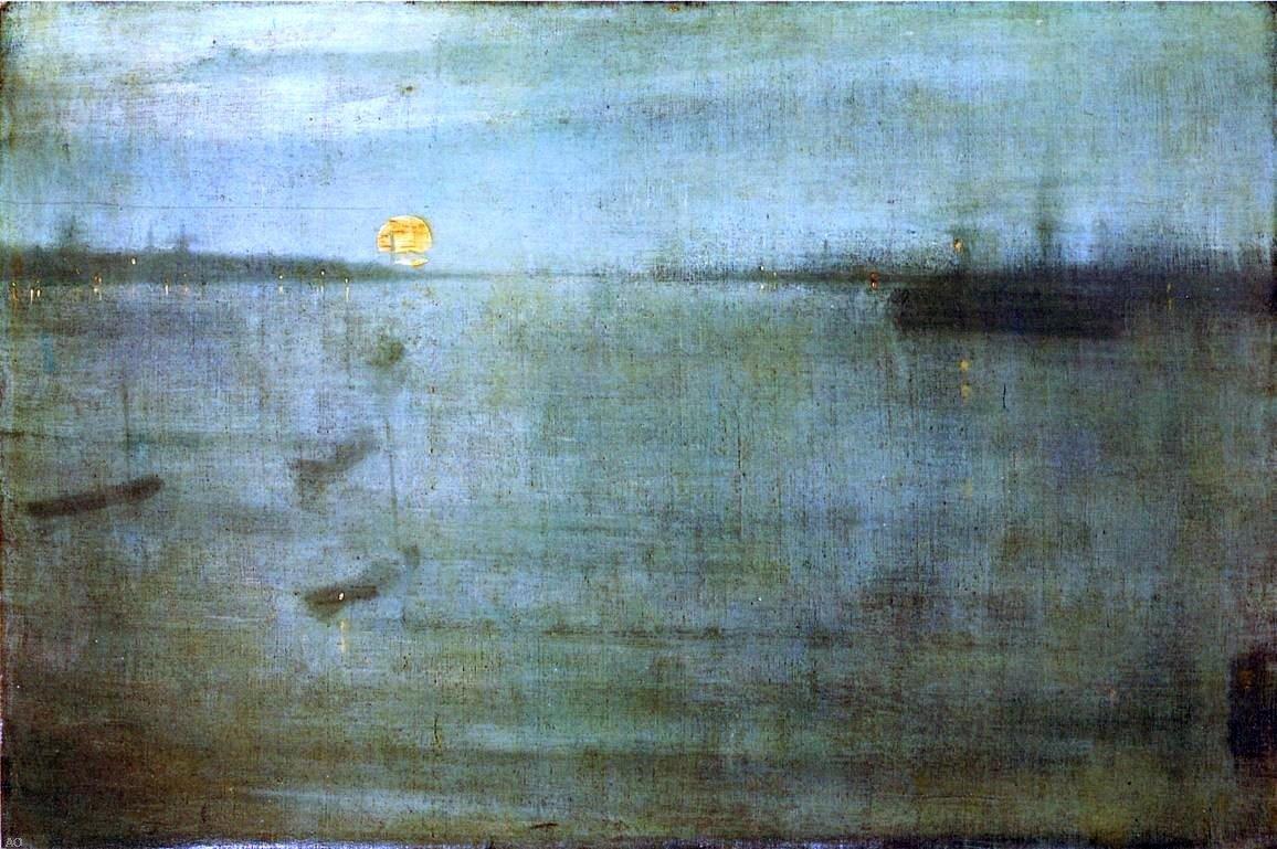 Картинки по запросу nocturne: blue and gold--southampton water
