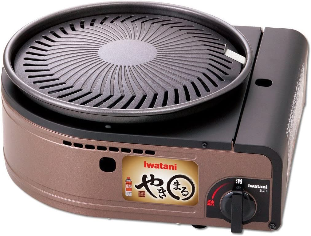 The IWATANI YAKIMARU CB-SLG-1 Smokeless Korean barbecue grill Review