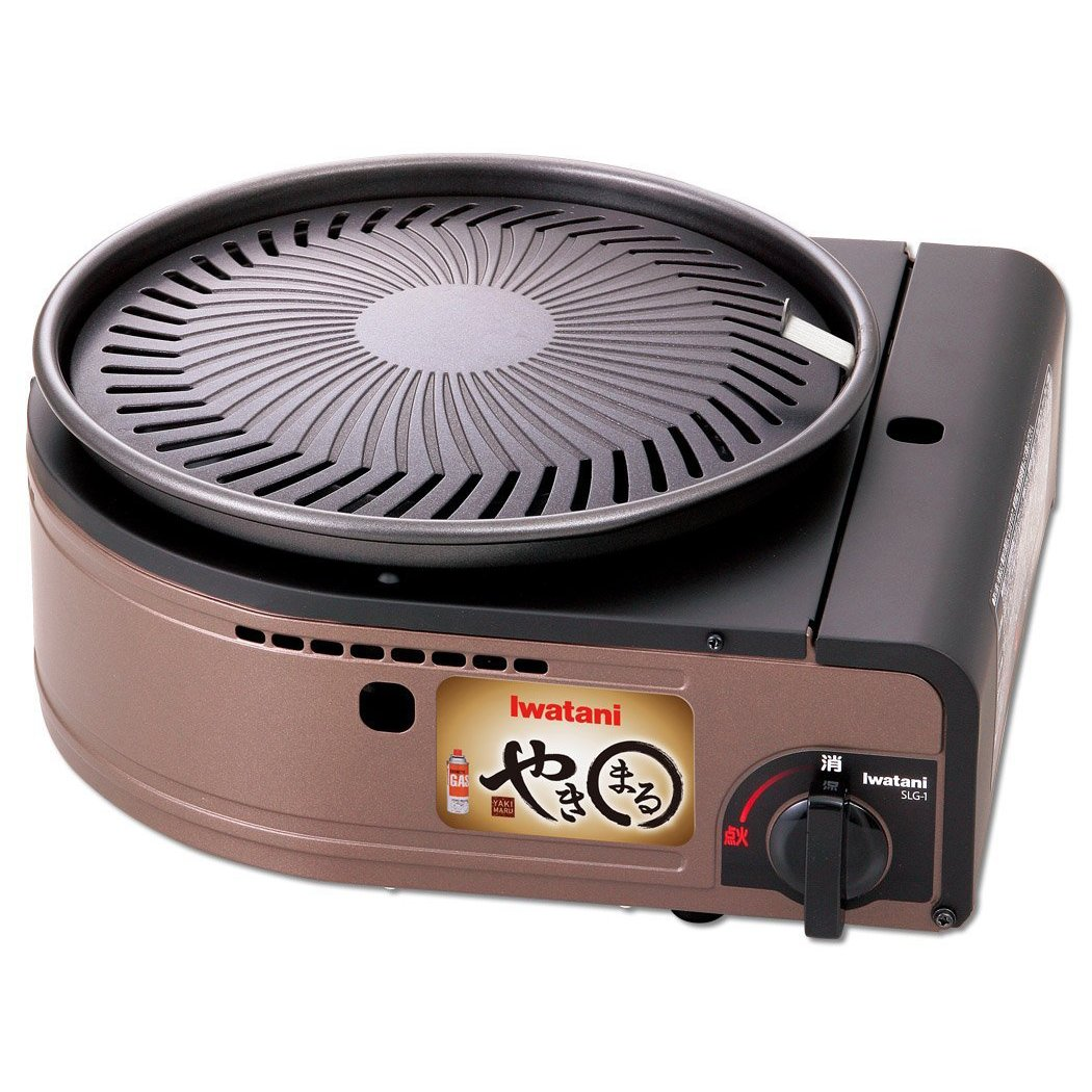 IWATANI Smokeless Korean barbecue grill ''YAKIMARU'' CB-SLG-1