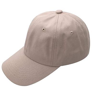 Gorra De Béisbol para Hombre Primavera Otoño Moda Sólido Color ...