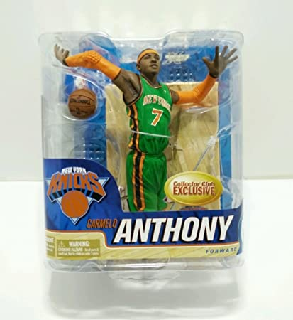 McFarlane NBA Series 20 Carmelo Anthony New York Knicks Collector Club Exclusives