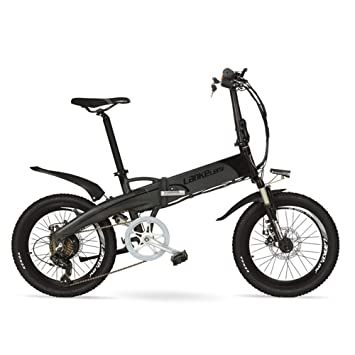 G660 48v 10ah Hidden Battery 20 Folding Electric Mountain Bike