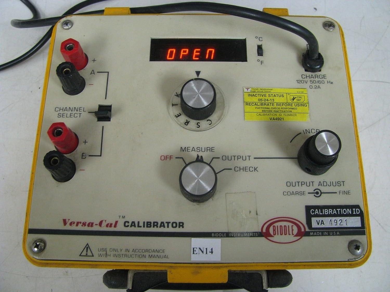Biddle Instruments Versa Cal Digital Tc Mv Test Set En14 Amazon Ca Electronics