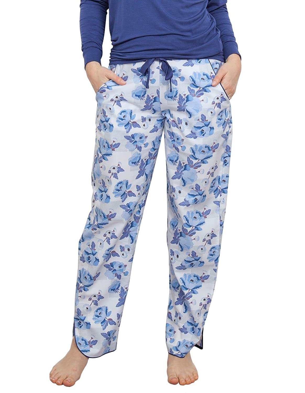 Cyberjammies 3754 Women's Ophelia Blue Floral Pajama Pyjama Pant