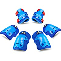 SKL Kids Knee Pads Elbow Pads Set Protective Gear Set for Skateboard Biking Roller Skating Cycling New Version