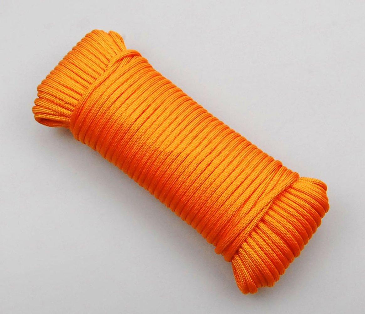ERHANG Einfachseile Outdoor-Zelt Seil Durchmesser 4mm (10m 32ft 40m 30m 94ft) Mehrzweck-Bergseil Maximale Sicherheitslast 30kg B07FMYLC3L Einfachseile Guter Markt