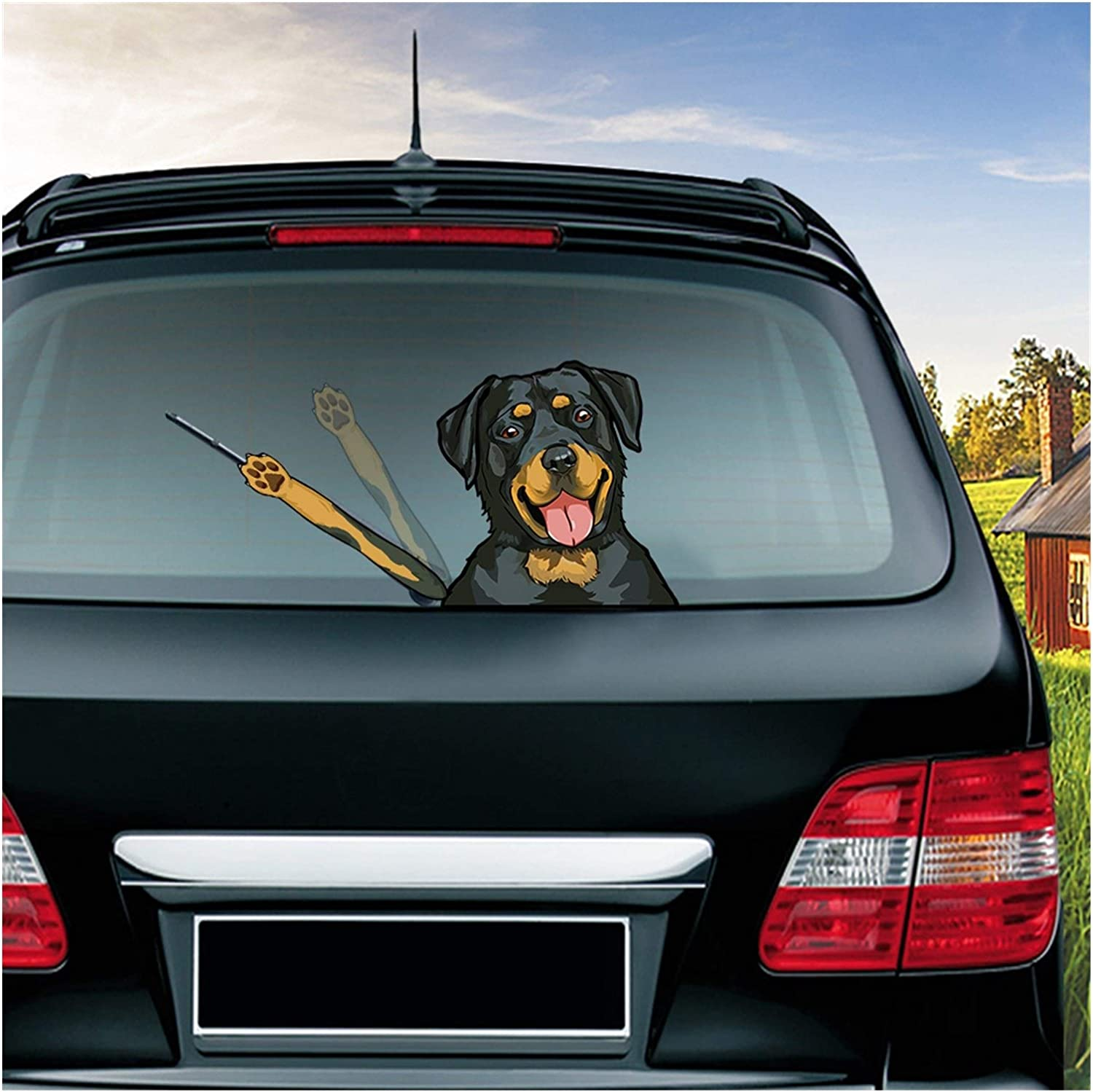 Amazon Com Jgzwlkj Car Stickers New Cute Cartoon Dog Car Sticker Waving Wiper Decals Car Styling Funny Rear Windshield Window Wiper Stickers For Car Color Name Beagle Home Kitchen [ 1498 x 1500 Pixel ]